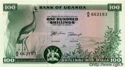 100 Shillings OUGANDA  1966 P.05a pr.NEUF