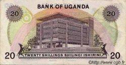20 Shillings OUGANDA  1973 P.07a TTB