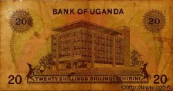 20 Shillings OUGANDA  1973 P.07c B