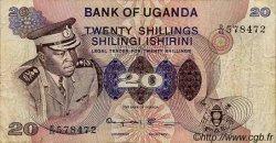 20 Shillings OUGANDA  1973 P.07c TB+