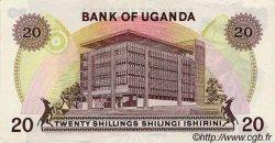 20 Shillings OUGANDA  1973 P.07c TTB+