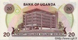 20 Shillings OUGANDA  1973 P.07c SPL