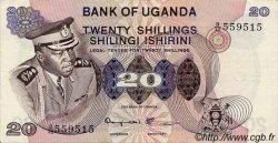 20 Shillings OUGANDA  1973 P.07c NEUF