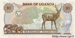 10 Shillings OUGANDA  1979 P.11b NEUF
