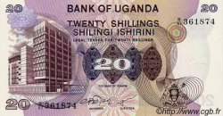 20 Shillings OUGANDA  1979 P.12b NEUF