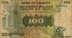 100 Shillings OUGANDA  1979 P.14a pr.TB