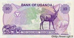 10 Shillings OUGANDA  1982 P.16 NEUF