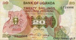 20 Shillings OUGANDA  1982 P.17 TTB
