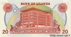20 Shillings OUGANDA  1982 P.17 NEUF