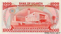 1000 Shillings OUGANDA  1986 P.26 NEUF