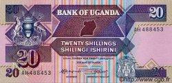 20 Shillings OUGANDA  1987 P.29a NEUF