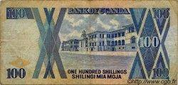 100 Shillings OUGANDA  1988 P.31b TB