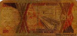 200 Shillings OUGANDA  1987 P.32a B