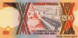 200 Shillings OUGANDA  1991 P.32b NEUF