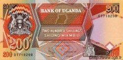 200 Shillings OUGANDA  1996 P.32b NEUF
