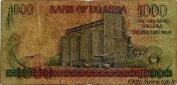 1000 Shillings OUGANDA  1991 P.34b B