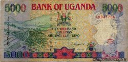 5000 Shillings OUGANDA  1993 P.37a TB