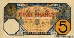5 Francs DAKAR AFRIQUE OCCIDENTALE FRANÇAISE (1895-1958) Dakar 1919 P.05Ba TTB