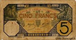 5 Francs DAKAR AFRIQUE OCCIDENTALE FRANÇAISE (1895-1958) Dakar 1926 P.05Bc B