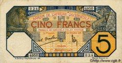 5 Francs DAKAR AFRIQUE OCCIDENTALE FRANÇAISE (1895-1958) Dakar 1932 P.05Be TTB+