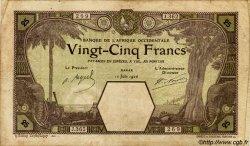 25 Francs DAKAR AFRIQUE OCCIDENTALE FRANÇAISE (1895-1958) Dakar 1926 P.07Bb TB
