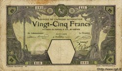 25 Francs SAINT-LOUIS AFRIQUE OCCIDENTALE FRANÇAISE (1895-1958) Saint-Louis 1917 P.07F B+