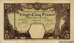 25 Francs GRAND-BASSAM AFRIQUE OCCIDENTALE FRANÇAISE (1895-1958)  1923 P.07Db TB+