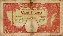 100 Francs CONAKRY AFRIQUE OCCIDENTALE FRANÇAISE (1895-1958) Conakry 1924 P.10Ac B