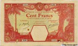 100 Francs GRAND-BASSAM AFRIQUE OCCIDENTALE FRANÇAISE (1895-1958) Grand-Bassam 1924 P.11Dd TB