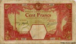100 Francs AFRIQUE OCCIDENTALE FRANÇAISE (1895-1958) Porto-Novo 1924 P.11Eb B