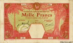 1000 Francs AFRIQUE OCCIDENTALE FRANÇAISE (1895-1958)  1924 P.15B TB