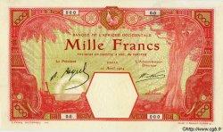 1000 Francs AFRIQUE OCCIDENTALE FRANÇAISE (1895-1958) DAKAR 1924 P.15Bs pr.NEUF