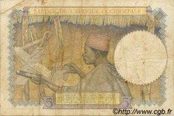 5 Francs type 1934 AFRIQUE OCCIDENTALE FRANÇAISE (1895-1958)  1936 P.21 TTB