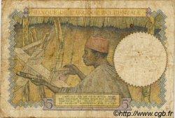 5 Francs AFRIQUE OCCIDENTALE FRANÇAISE (1895-1958)  1937 P.21 B+