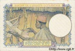 5 Francs type 1934 AFRIQUE OCCIDENTALE FRANÇAISE (1895-1958)  1938 P.21 SUP