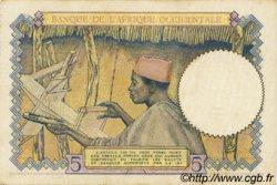 5 Francs type 1934 AFRIQUE OCCIDENTALE FRANÇAISE (1895-1958)  1938 P.21 SPL