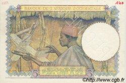5 Francs type 1934 AFRIQUE OCCIDENTALE FRANÇAISE (1895-1958)  1941 P.25s SPL