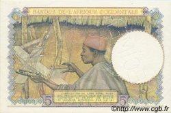 5 Francs type 1934 AFRIQUE OCCIDENTALE FRANÇAISE (1895-1958)  1941 P.25s pr.NEUF