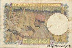 5 Francs AFRIQUE OCCIDENTALE FRANÇAISE (1895-1958)  1941 P.25 TTB