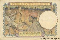 5 Francs AFRIQUE OCCIDENTALE FRANÇAISE (1895-1958)  1942 P.25 TTB+