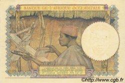 5 Francs type 1934 AFRIQUE OCCIDENTALE FRANÇAISE (1895-1958)  1942 P.25 SPL+
