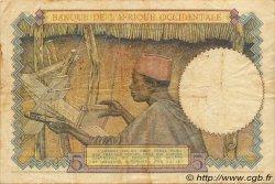 5 Francs AFRIQUE OCCIDENTALE FRANÇAISE (1895-1958)  1942 P.25 TB