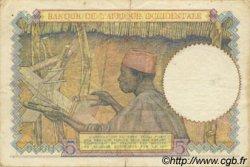 5 Francs AFRIQUE OCCIDENTALE FRANÇAISE (1895-1958)  1942 P.25 pr.TTB
