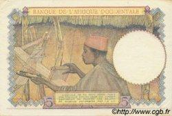 5 Francs type 1934 AFRIQUE OCCIDENTALE FRANÇAISE (1895-1958)  1943 P.26 SUP