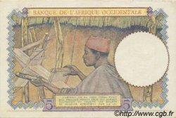 5 Francs type 1934 AFRIQUE OCCIDENTALE FRANÇAISE (1895-1958)  1943 P.26 SPL