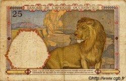 25 Francs type 1933 AFRIQUE OCCIDENTALE FRANÇAISE (1895-1958)  1933 P.22 TB+