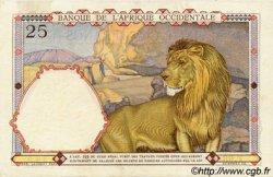 25 Francs type 1933 AFRIQUE OCCIDENTALE FRANÇAISE (1895-1958)  1936 P.22 pr.SPL