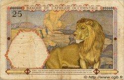 25 Francs AFRIQUE OCCIDENTALE FRANÇAISE (1895-1958)  1936 P.22 TB