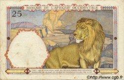 25 Francs AFRIQUE OCCIDENTALE FRANÇAISE (1895-1958)  1936 P.22 TTB