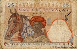 25 Francs type 1933 AFRIQUE OCCIDENTALE FRANÇAISE (1895-1958)  1938 P.22 B